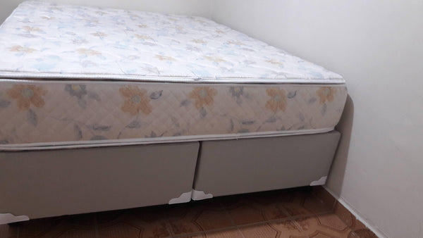 Cama Box Queen Completa