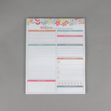 "Load image into Gallery viewer, Bloom Planning Pads - 8.5""x11"""