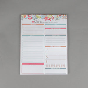 "Bloom Planning Pads - 8.5""x11"""