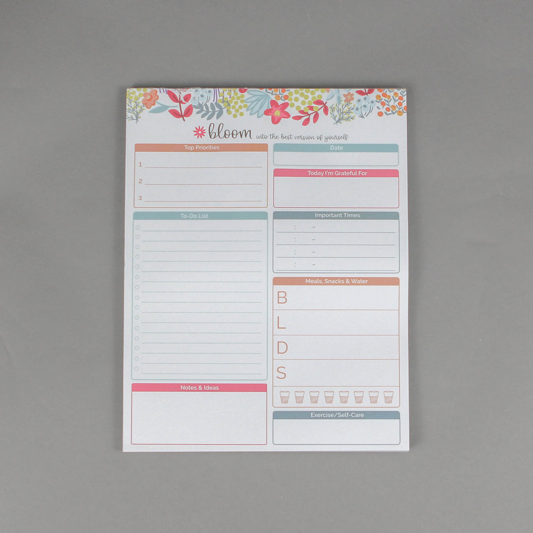 Bloom Planning Pads - 8.5