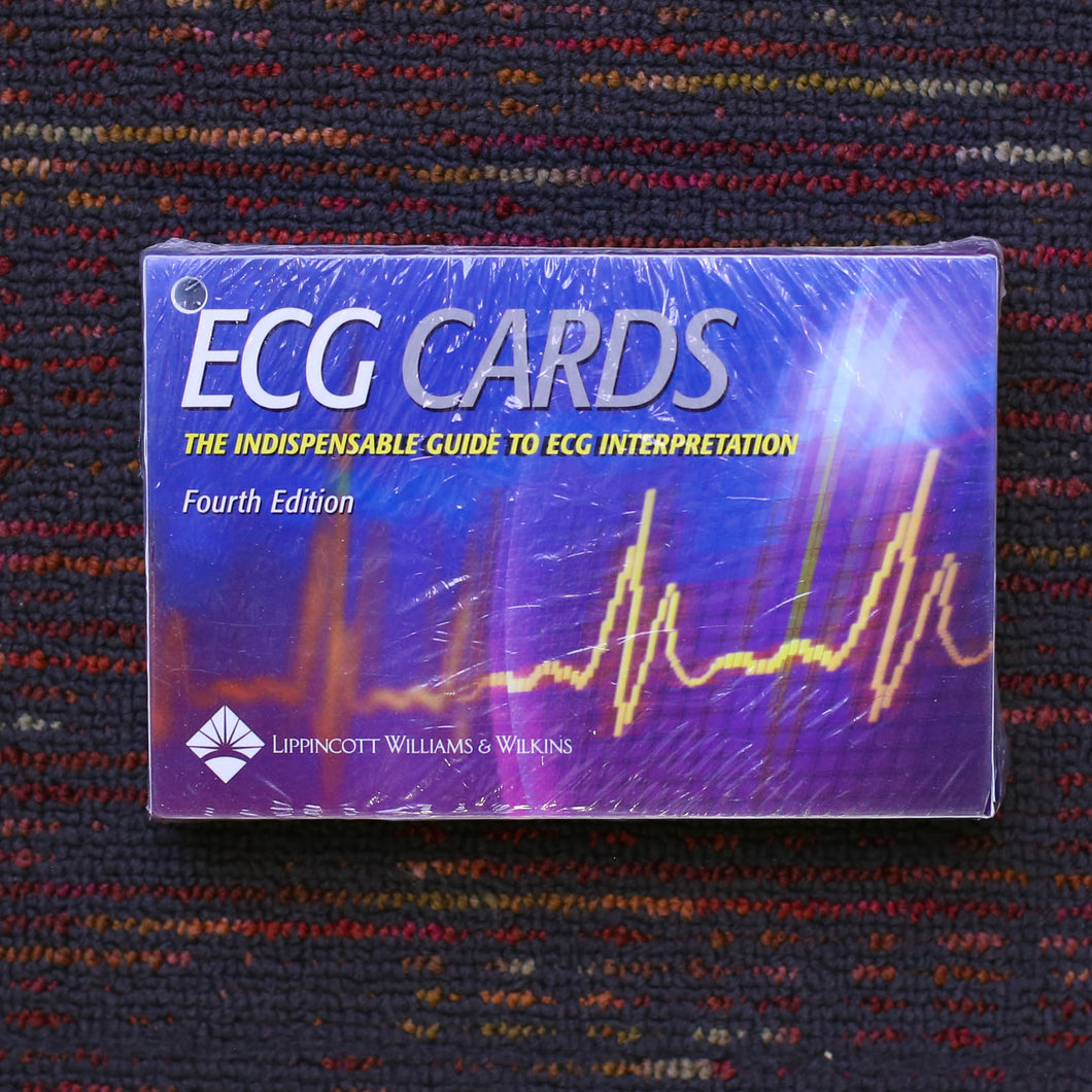 ECG Cards. 4th Edition. The Indispensable Guide to ECG Interpretation