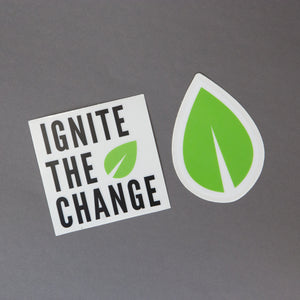 Ignite the Change Stickers