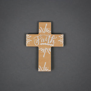 Spiritual Harvest Mini Easel Cross