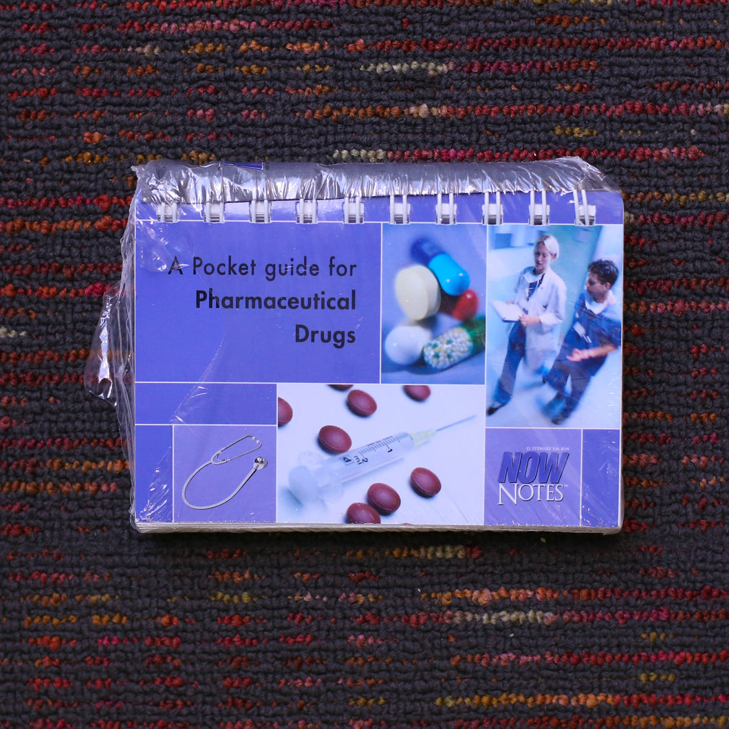 A Pocket Guide fir Pharmaceutical Drugs    NOW NOTES