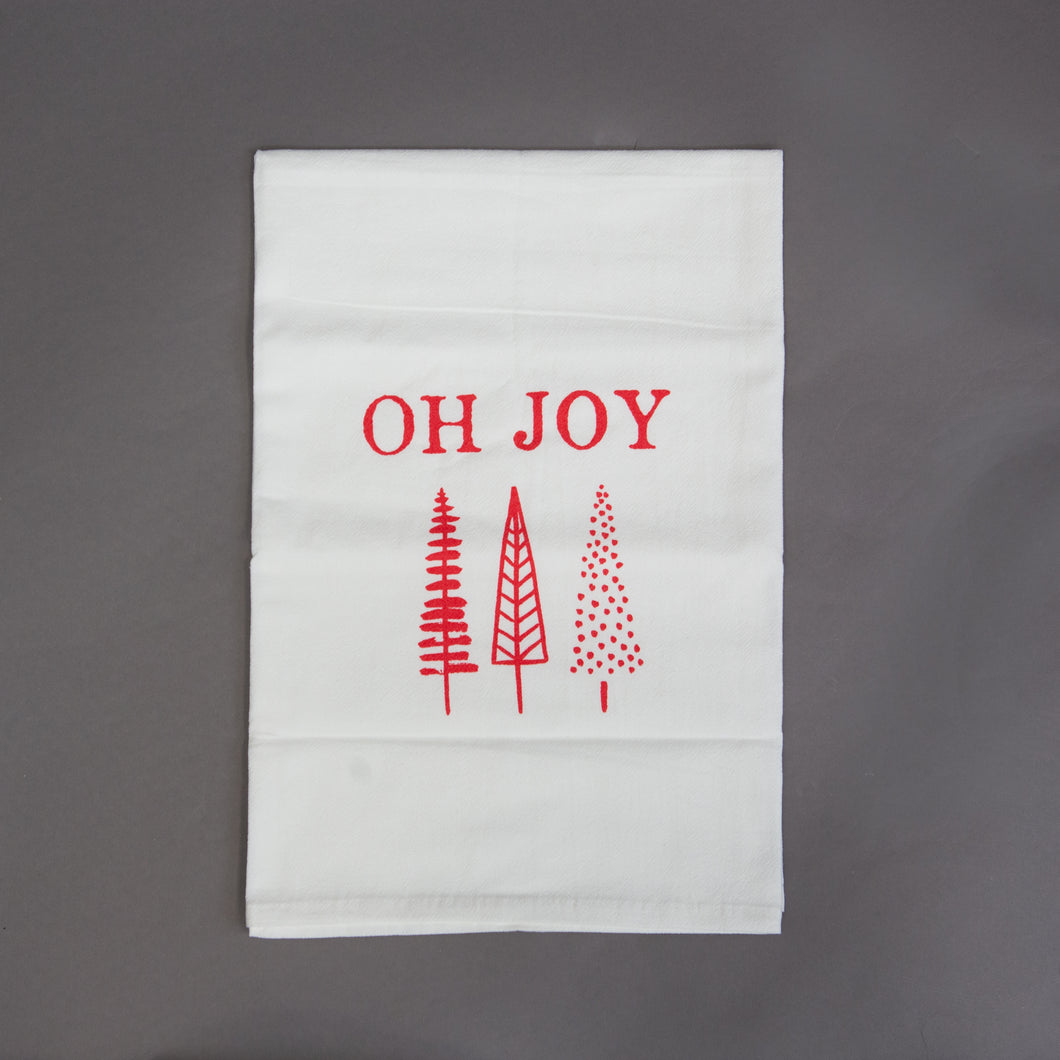 OH JOY Christmas Hand Towels