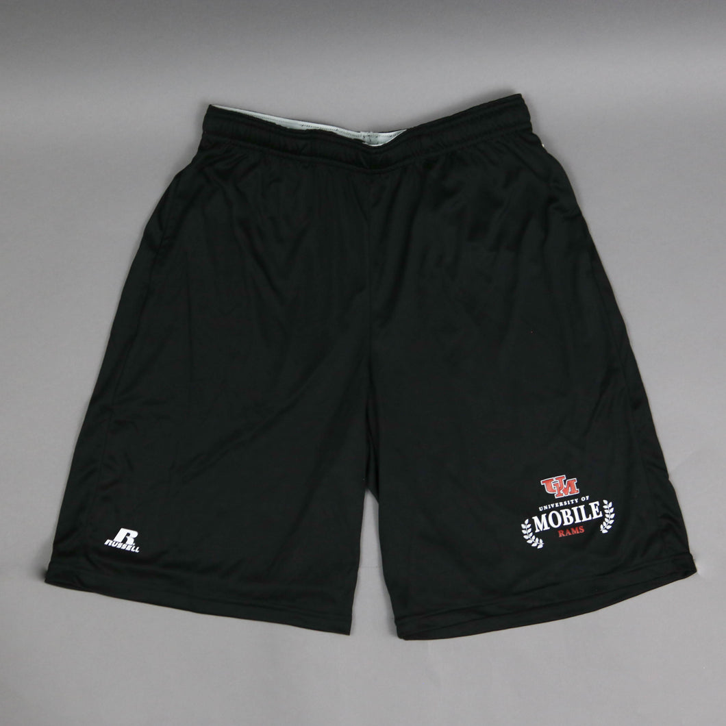 Full Court Black Athletic Shorts