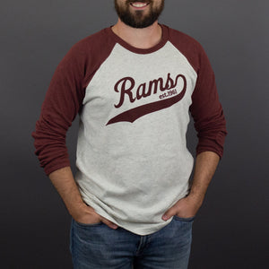 Rams Ragland Long Sleeve Tee