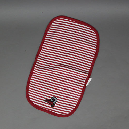 Striped Rams Burp Pad