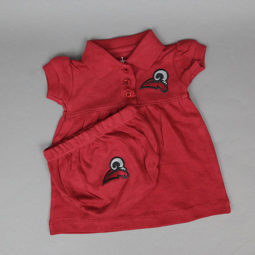 Girls UM Ram Polo Dress with Bloomers