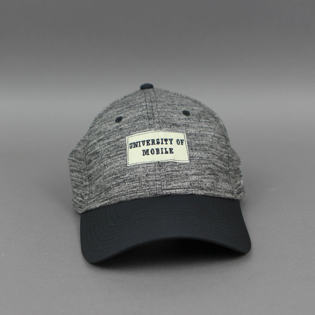 Heather Black Stretch Cap