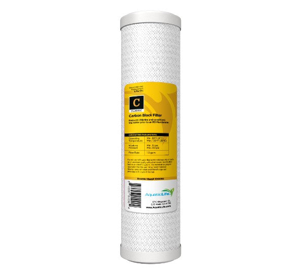 Solid Carbon Block Pre-filter Cartridge