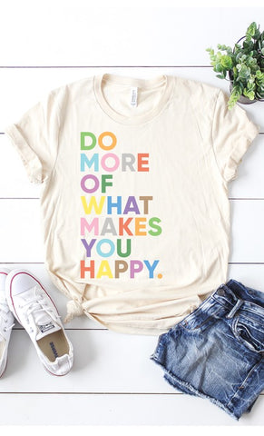 """Be Happy"" Top"