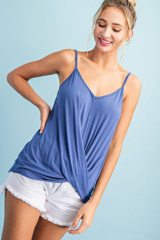 """Elle"" Knit Camisole Tank Style Top"