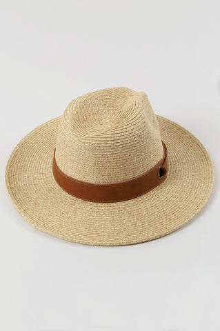 """Denver"" Straw Panama Hat"
