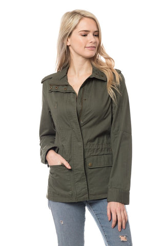 """Army Brat"" Olive Green Jacket"