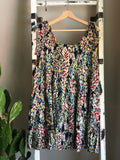 """Isle"" Garden Dress in Navy"