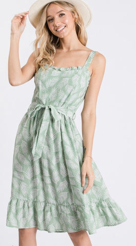 Picture Me Palms Dress