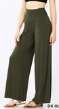 """Becca"" Smocked Waist Lounge Pants"