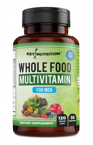 Whole Food Multivitamin for Men - Premium Men's Vitamin, by Key Nutrition