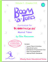 Boom-a-Tunes™ Curriculum, Volume 4 w/CD