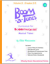 Boom-a-Tunes™ Curriculum, Volume 2 w/CD