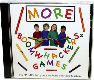 More Boomwhackers™ Games