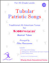 Tubular™ Patriotic Songs w/CD