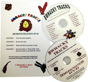 Bwhacky Tracks Demo DVD