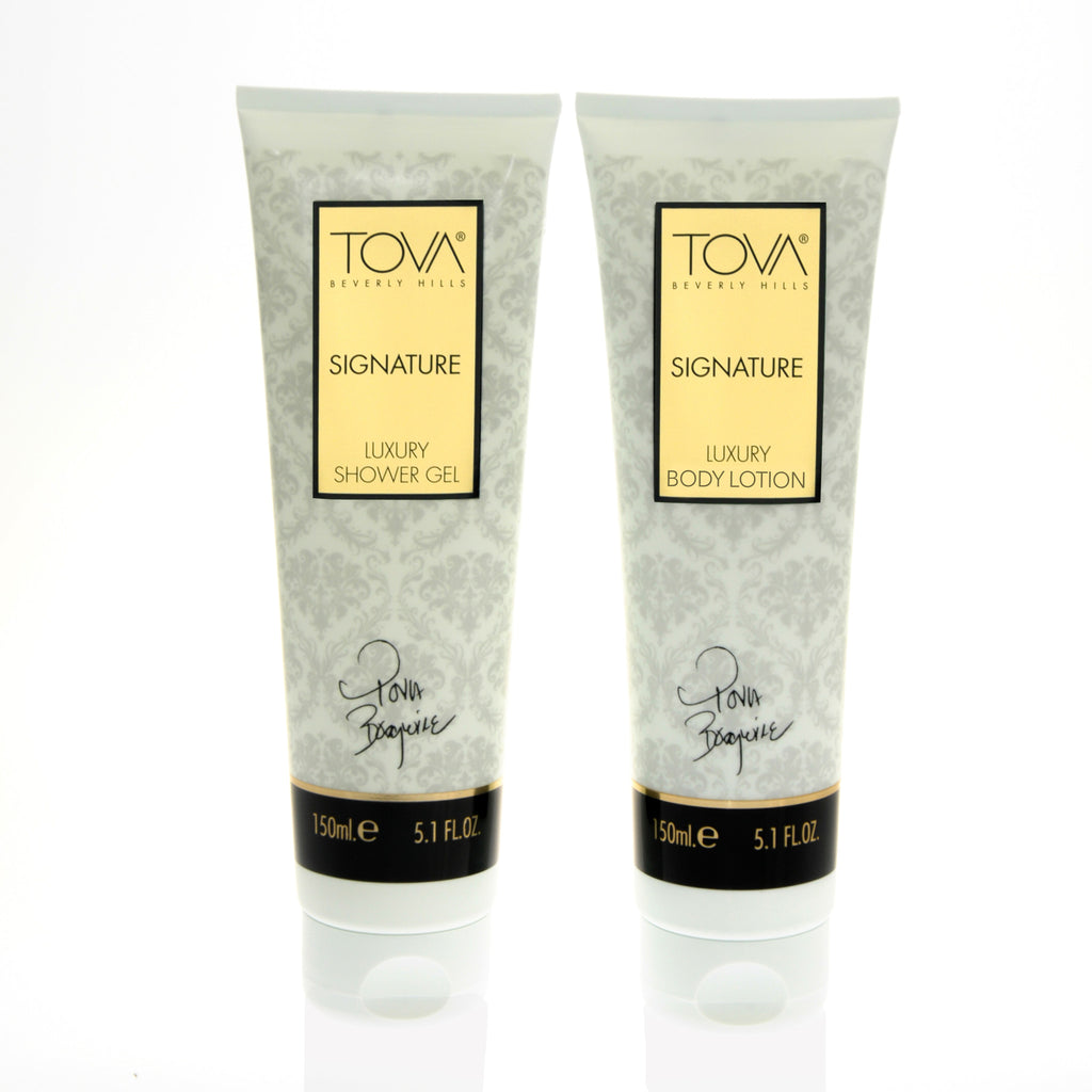 Signature Luxury Body Lotion & Shower Gel Set