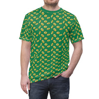Four Leaf Clover In Gold T-Shirt