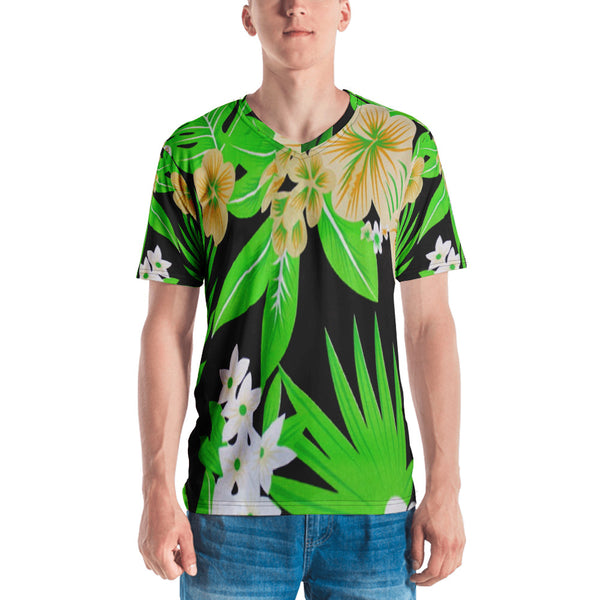 Drau Ni Niu (Palm Leaves) V-Neck T-Shirt