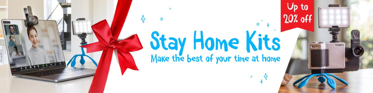 Stay Home Mobile Photography Kits