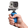 Can be hand held to provide superior stability when shooting video