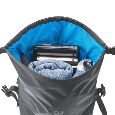 "The upper top-loading compartment offers plenty of room for personal things – while providing the same great protection from rain and dust. A designated slot for a 15"" laptop, an organizer and 2 pockets suitable for water bottles (or a thermos full of hot tea) will keep your stuff organized and easy to reach."