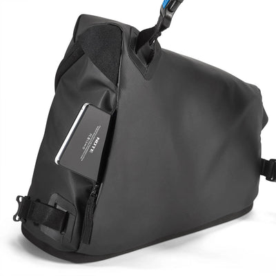 Rear pocket with zipper - perfect for keeping personal items safe and dry.