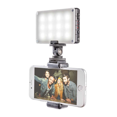 Pictar Smart Selfie Stick + Wide & Macro Smart Lens + Smart Light