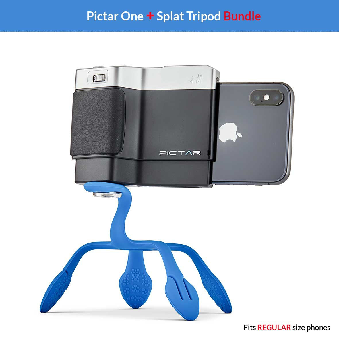 Pictar-One and Splat Flexible Tripod Bundle