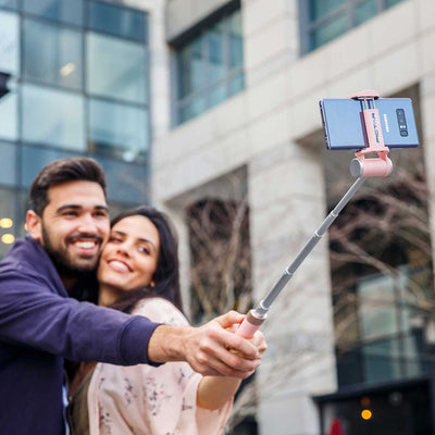 Pictar Smart Selfie Stick + Smart Lens Wide Angle