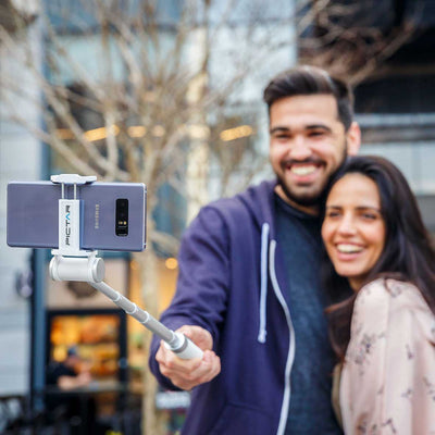 White-Smart-Selfie-Stick-HuggingCouple