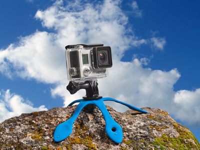 Splat is a flexible tripod that adjusts to any surface