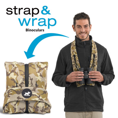strap  and wrap binoucular