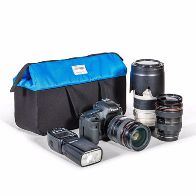 Photo gear insert bag fits most DSLR gear size (without battery grips)