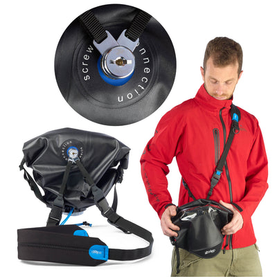Exclusive to miggo's rain cover - connect any sling strap you like to your rain cover! for example the miggo two-way speed strap