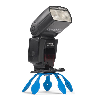 Can support external flash or LED light source