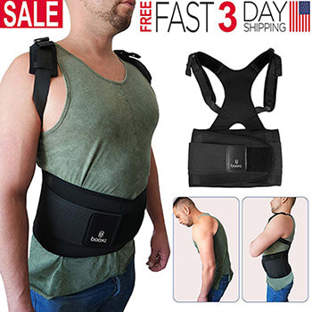 Posture Corrector Back Brace for lower back pain relief
