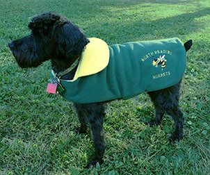 Custom Fleece Mascot Dog Coat