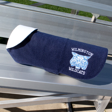 Wilmington Wildcats  Dog Coat