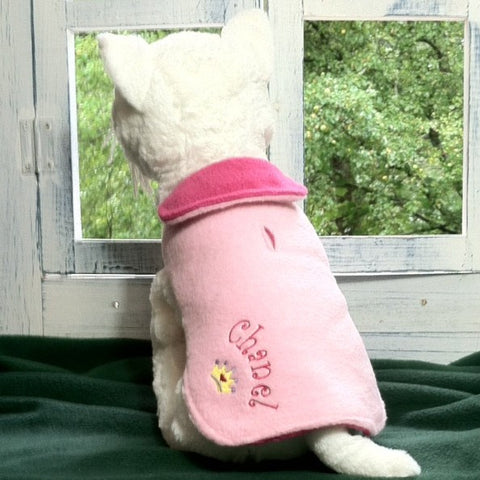 Embroidered Novelty Dog Coat