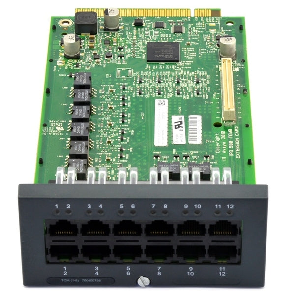 Avaya-IP500-TCM-8-Base-Card-7005007581-front