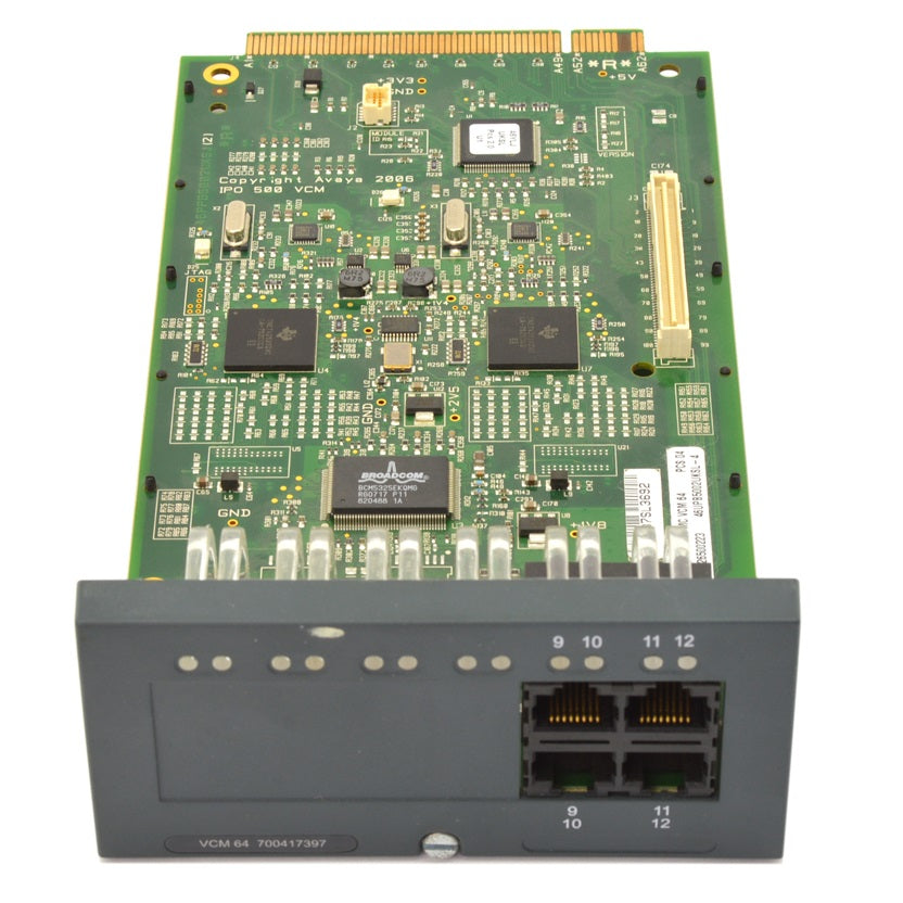 Avaya-IP500-VCM-64-Base-Card-700417397-front
